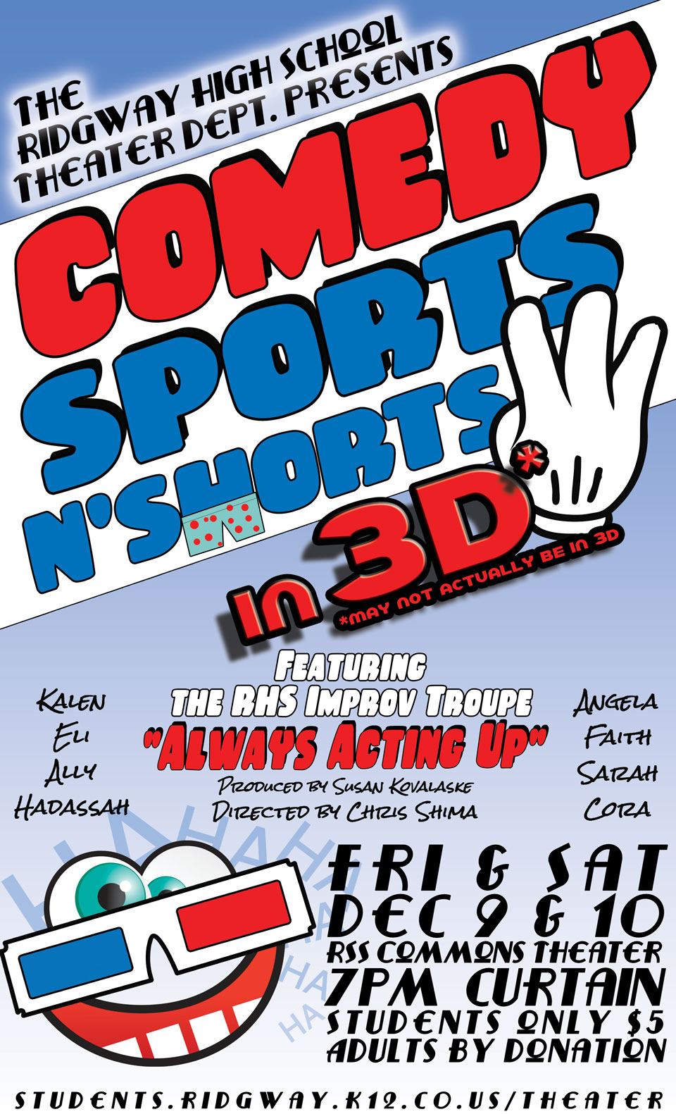 Comedy Sports N Shorts 3 in 3D